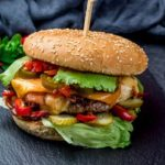 Jalapeno Beef Burger  £7.50