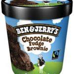 Ice Cream Brownie £5.50
