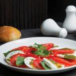 Tomato & Mozzarella £4.90